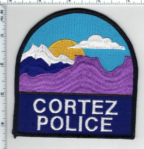 Cortez Police (Colorado) Shoulder Patch - new from the 1980