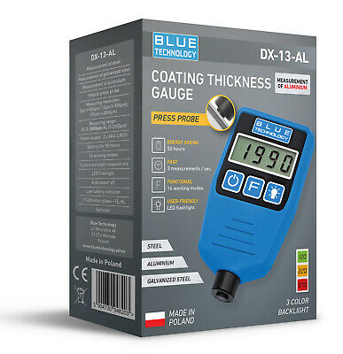 Paint Coating Thickness Gauge For Cars Dx-13-al Feal From Producer Made In Eu
