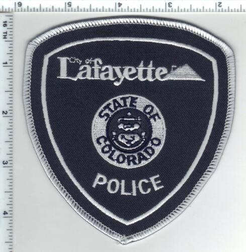 Lafayette Police (Colorado) Subdued Shoulder Patch from the 1980s