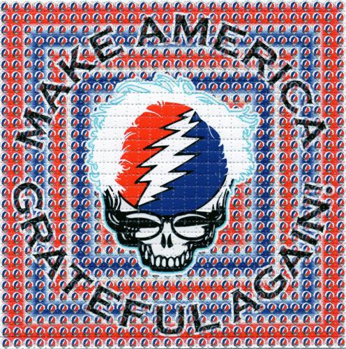 BERNIE SANDERS Make America Grateful Again BLOTTER ART sheet psychedelic art tab