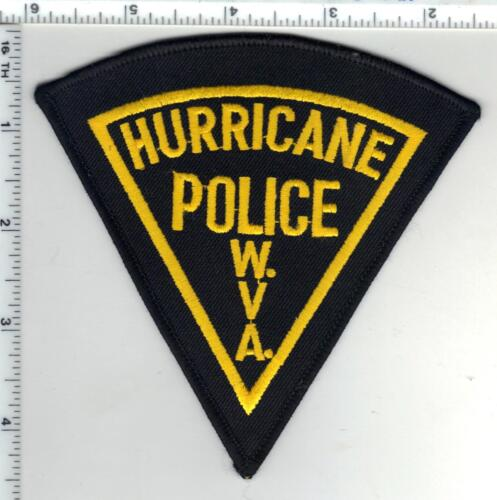 Hurricane Police (West Virginia) 1st Issue Wide Border Shoulder Patch