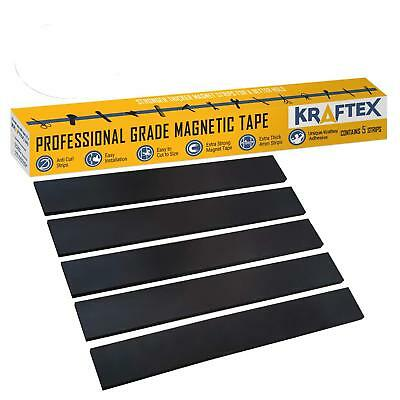 New 1 Magnetic Tape Extra Strong Premium Grade Magnet Strips With 3m Adhesive