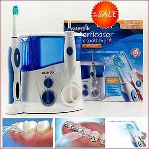 new waterpik water pick flosser electric sonic toothbrush gums braces oral care. Black Bedroom Furniture Sets. Home Design Ideas