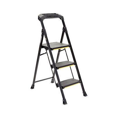 Gorilla Ladders 3 Step Steel Step Stool 300 Lbs. Load Capacity Heavy Duty New
