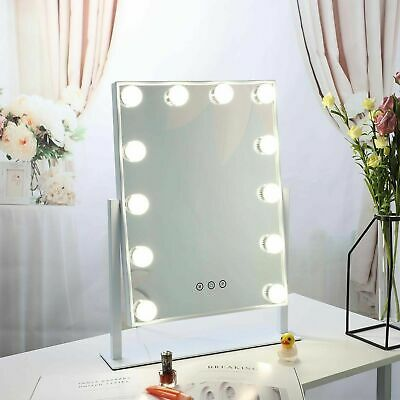 12LED Hollywood Mirror With Lights YsE Dressing Vanity Makeup Desk Table Bright