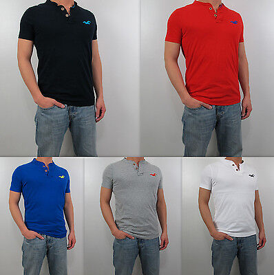 NWT HOLLISTER HCO 2013 Men Muscle Slim Fit Malibu Henley T Shirt By Abercrombie