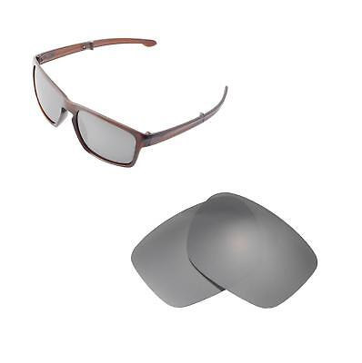 2a1702804a New Walleva Titanium Polarized Replacement Lenses For Oakley Sliver F  Sunglasses
