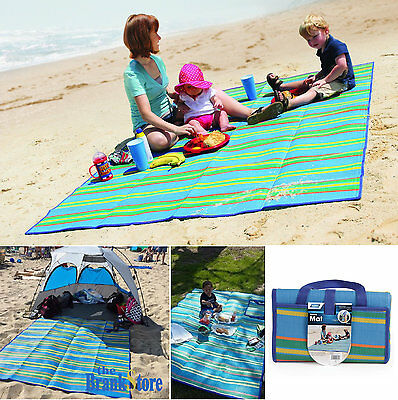 Large Picnic Blanket Beach Mat Outdoor Portable Camping Park Rug Hiking Gear