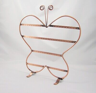 Schmuckständer °schmetterling° Ohrringe Halter Display Kupferfarbe Geschenk Schmetterling Schmuck-ständer