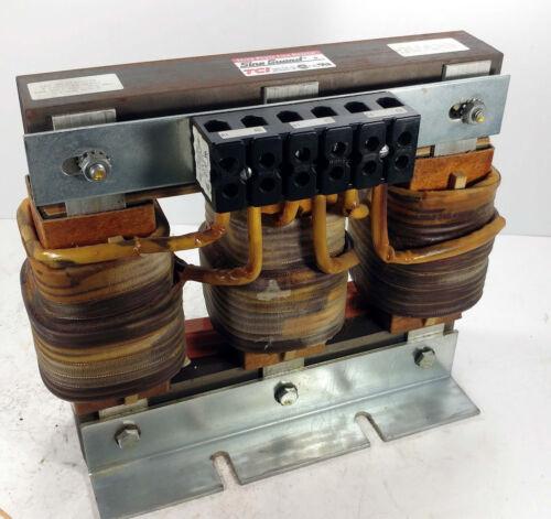 1 USED TCI KLR55CTB SINE GUARD THREE PHASE LINE REACTOR 55A 600V  **MAKE OFFER**
