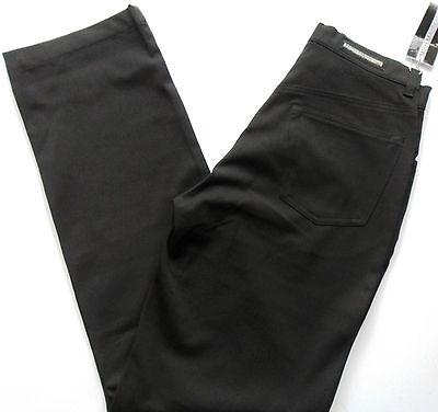Mish Mash Trousers Men's Pants Lycra Gaberdine Stretch Black Sizes: 28 - 32