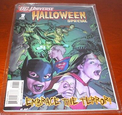 DC Universe Halloween Special #1 (2008, DC) One Shot FINE