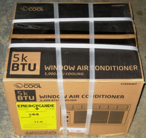 Commercial Cool 5000 BTU Window Air Conditioner NEW