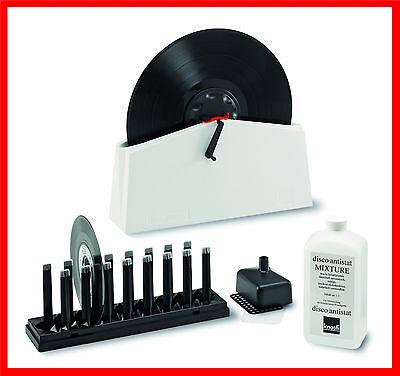 Schallplatten Waschgerät KNOSTI Disco-Antistat MK II NEU Model 2 Waschmaschine