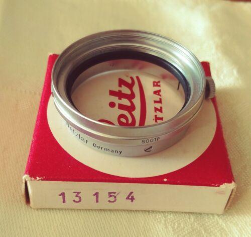 Leica SOOGZ Filter adapter #13154 Chrome/Clamp