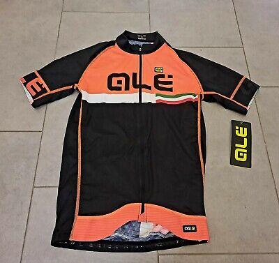 Orig. Ale maglia PRR black orange Italy Trikot Jersey Gr.M Top cycling...