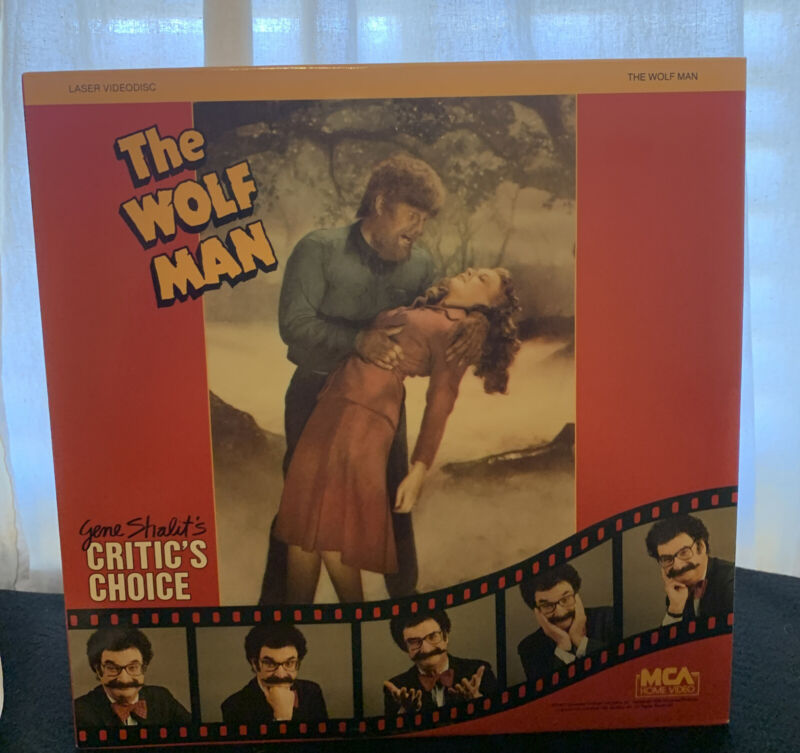 The Wolf Man Laserdisc