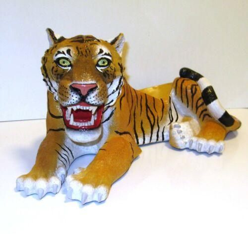 "Tiger Display Bowl / Figurine 16"""