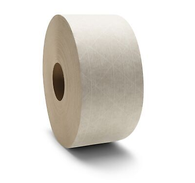 Wat White Gum Tape Reinforced 10 Rolls 3 X 450 Ft Pride Economy