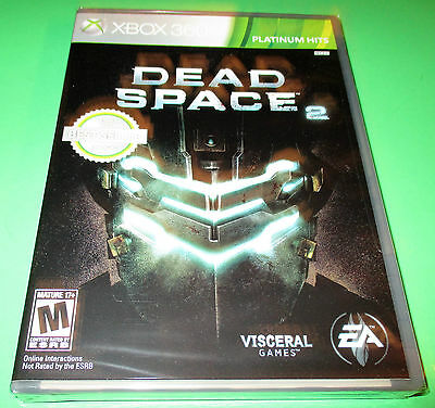 Dead Space 2 Xbox 360   Factory Sealed!   Free Shipping!, usado segunda mano  Embacar hacia Mexico