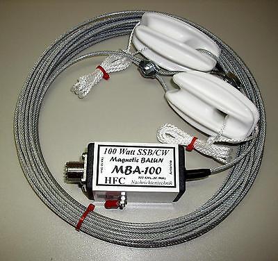 MBA-100 S Langdrahtantenne 12,5 m mit 100 Watt Balun | Shopping Ebay ...