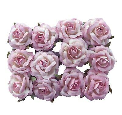 Pink Paper Roses 1.25
