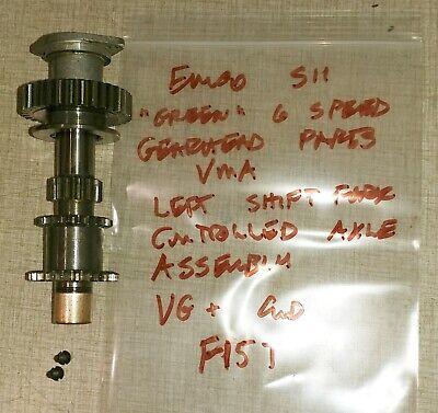Emco Maximat Super 11 Lathe Vma Parts Left Axle Gear Assy F15t