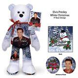 CHRISTMAS SALE -  Elvis Presley White Christmas Bear