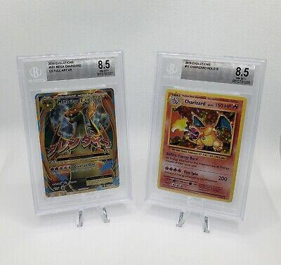 Charizard HOLO BGS 8.5 11/108 Pokemon XY Evolutions Anniversary EX Full 101/108