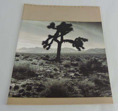 U2 THE JOSHUA TREE TOUR BOOK CONCERT PROGRAM 1987 - RARE