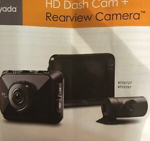 YADA HD DASH CAM +REARVIEW CAM BRAND NEW!!!