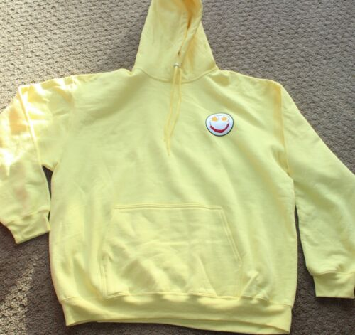 MUSIC A FILM BY SIA OFFICIAL PROMO YELLOW HOODIE SWEATSHIRT large PROMOTIONAL