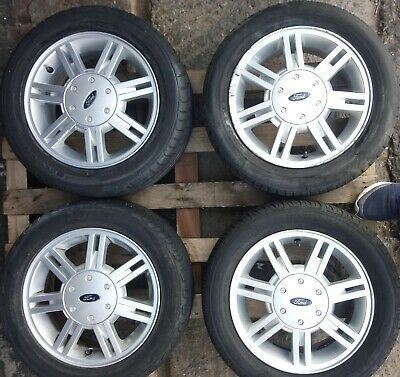 GENUINE FORD FIESTA MK4/5  5.5Jx14H2 ET43.5  ALLOY WHEEL YS61-CA, 185 55 14 TYRE