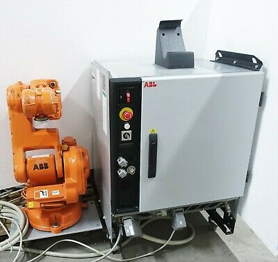 Abb Irb 140 M2004 Type C 6-axes Industrial Robot W Irc5 M2004 Cabinet Controller