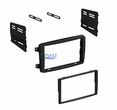 Single Double DIN Installation Stereo Dash Kit for 2001-2004 Mercedes C-Class