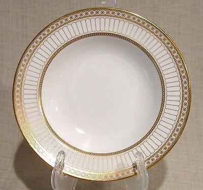 Wedgwood Colonnade Gold Rimmed Soup Bowl Gold-rimmed Soup Bowl