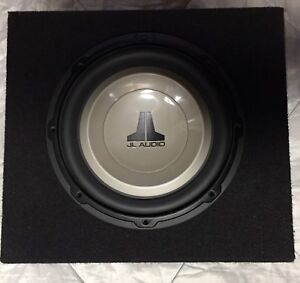 "Jl Audio 10"" sub and box"