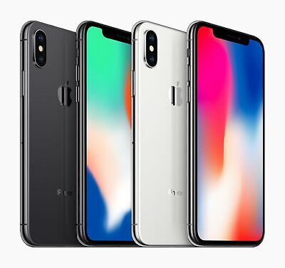 Apple iPhone X 64GB Factory Unlocked Smartphone