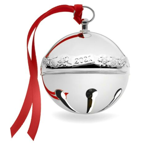 Wallace 2021 Sleigh Bell Ornament, 51st Edition Brand NEW in Box