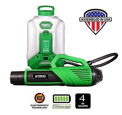 Sanitizer Electrostatic Mister Sprayer Commercial Cleaning Backpack Fogger