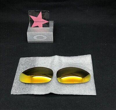 Oakley Juliet Fire Iridium Polarized Lenses Replacement Authentic (Oakley Fire Iridium Polarized)