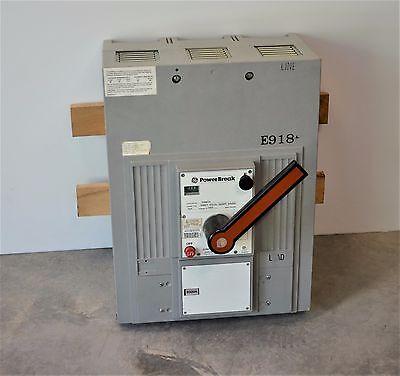 Ge Breaker Power Break E918 - New Unit - Tpmmf76 2000a 100ka - Tpdt20 Li Trip
