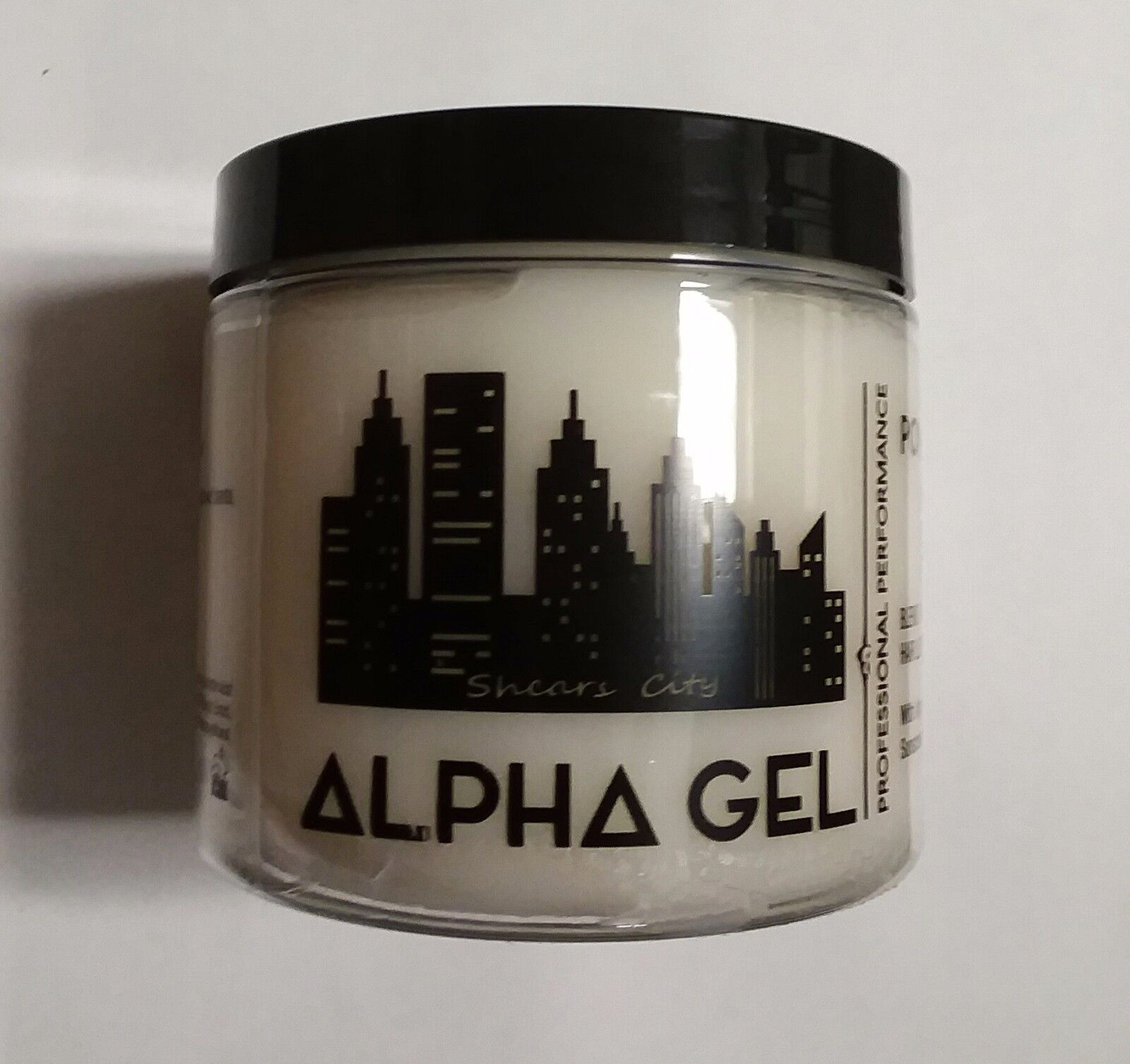 Alpha Gel Powerful Hair Gel, Water Based, No Flaking No Alco