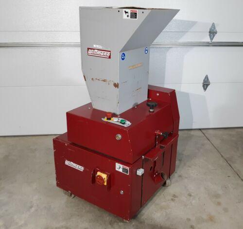CMB Wittmann MB714 Portable Plastics Granulator, 3HP 460V, Rotor Speed 240 RPM