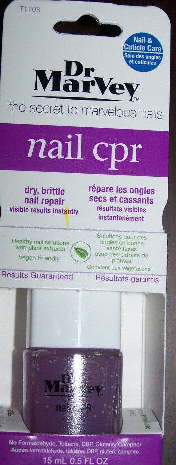 Dr. Marvey Nail CPR Nail-care Product T1103 0.5oz Repair Gel Formula Gluten Free