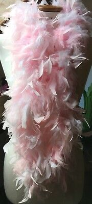 Baby Pink Fancy Dress Feather Boa/Pin Up/Burlesque/Retro/Halloween/New & - Pin Up Baby Kostüm