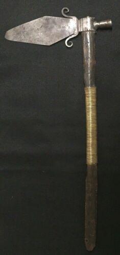 Antique Spontoon Tomahawk - Plains Indian -1870-1890