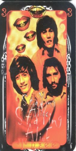 The Bee Gees Barry Robin Maurice Gibb Unique Rock n Roll Tarot Card