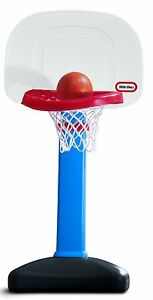 NEW-SEALED-Little-Tikes-EasyScore-Basketball-Set-with-Junior-Size-Basketball