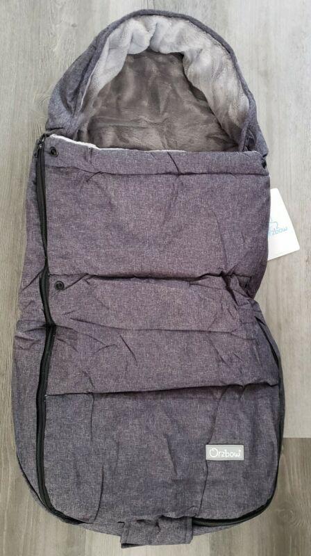 Orzbow Baby Sleeping Bag Quilt Foot Muff  Blanket Stroller Cozy Grey Brand New